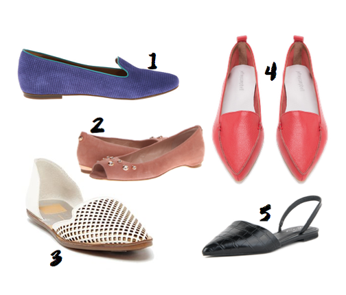 Five Favorite Flats - greysuede.com