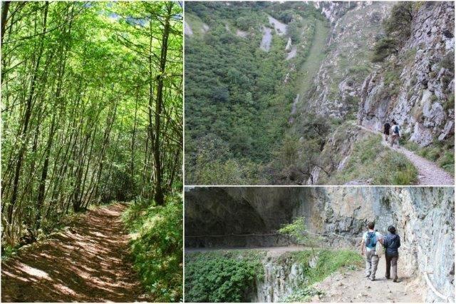 Ruta - Desfiladero de las Xanas en Asturias