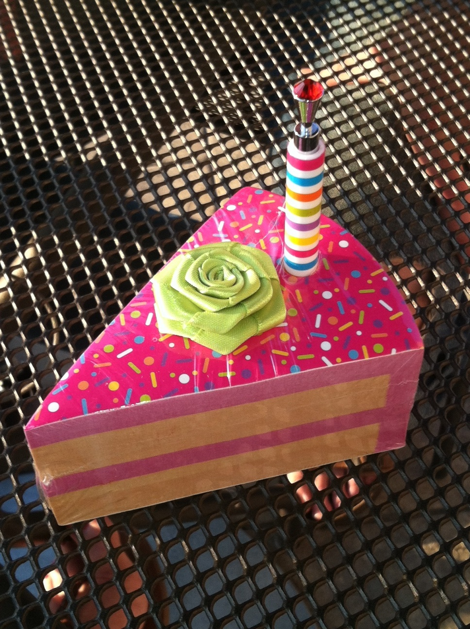 July 29 Birthday Cake Notepad The Great White Elephant Exchange
