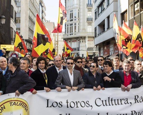 LA FIESTA DE LOS TOROS: OBJETIVO DE LOS ANTIESPAÑA