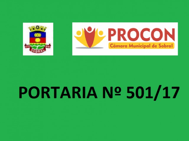 PROCON  E OUVIDORIA DA CÂMARA MUNICIPAL DE SOBRAL