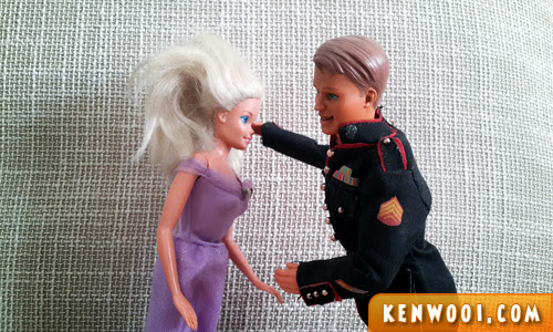 barbie and ken punch