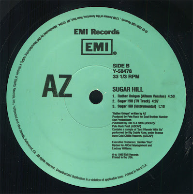 AZ – Sugar Hill (Remix) (VLS) (1995) (320 kbps)