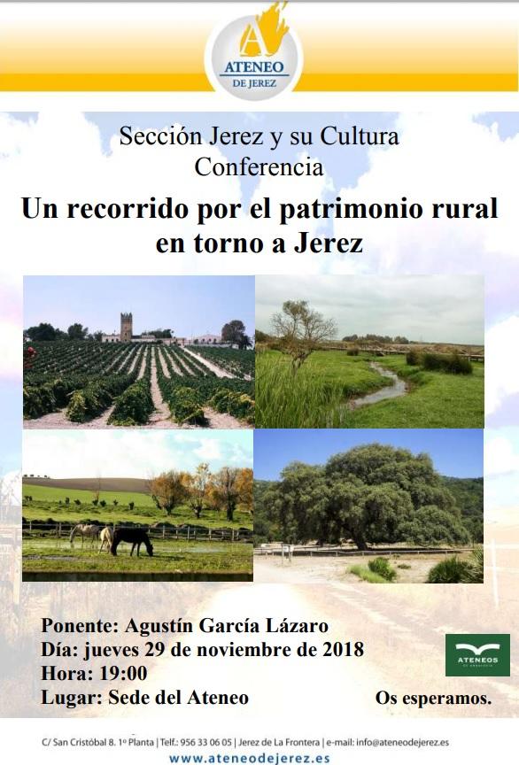 Un recorrido por el patrimonio rural en torno a Jerez