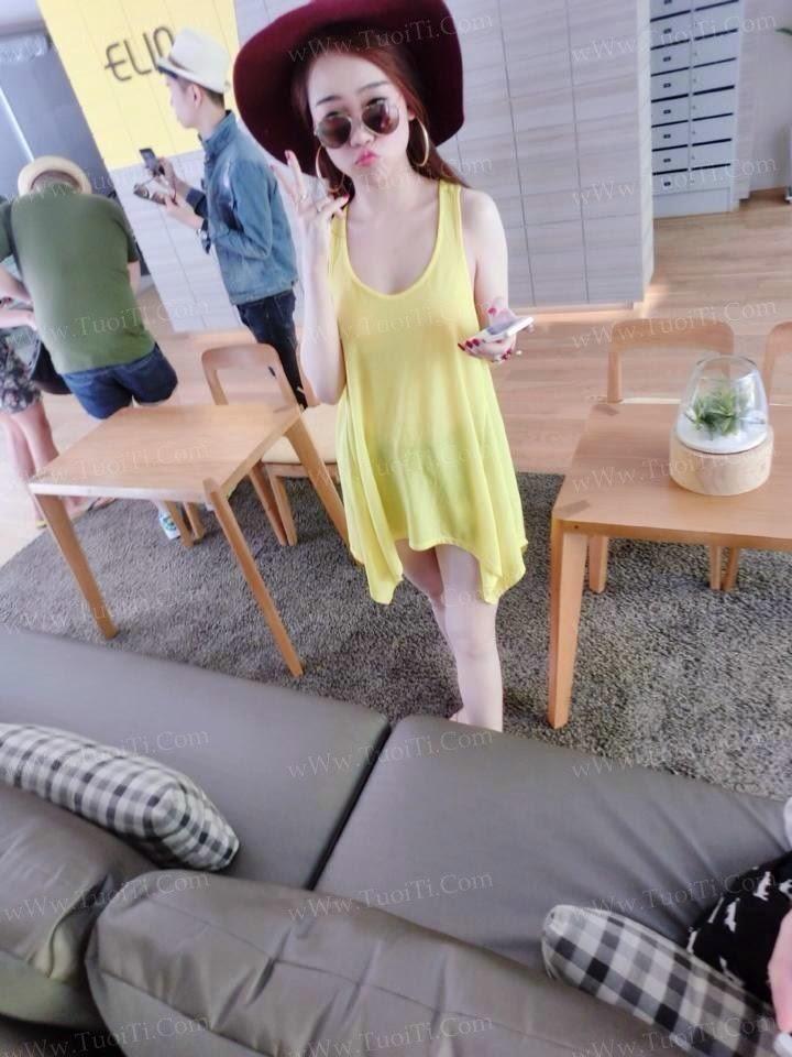 Ảnh gái xinh Ngọc Lena trắng trẻo ngon lắm đây! 5