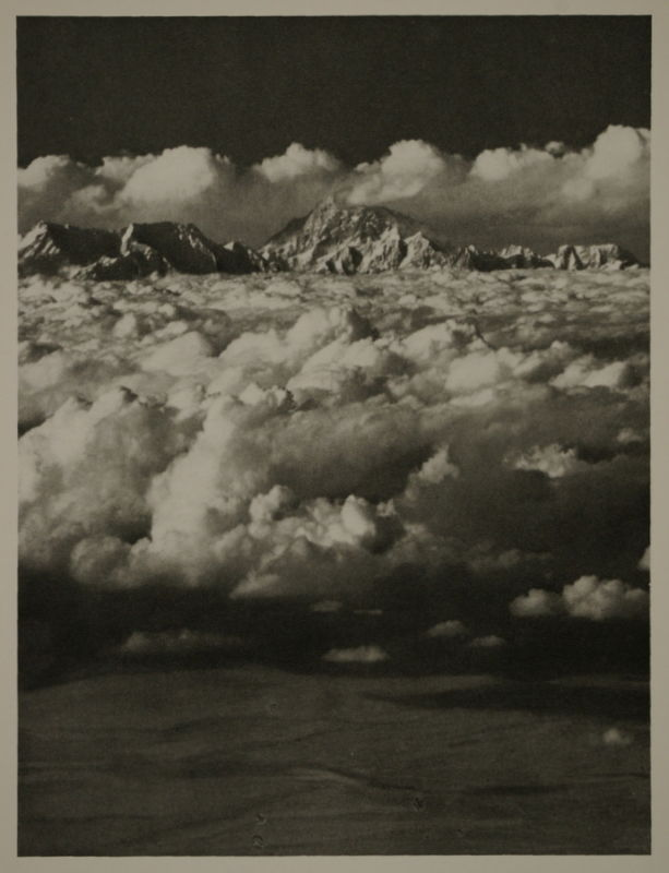 Mount Everest Aerial Photograph - 1935