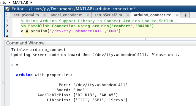 Download arduino support package for matlab