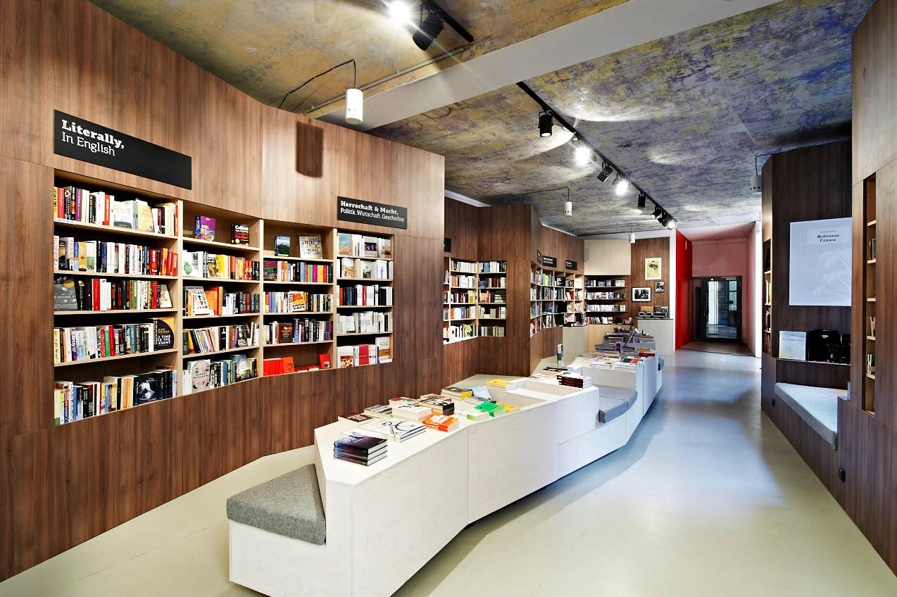 Libreria - Cafetería Ocelot en Berlin
