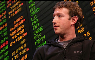 Mark Zuckerberg Facebook  CEO on wall street