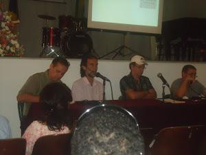 Prof. Chenaud, maestro  Sérgio  Souto, músico  Hyran  Monteiro  e  músico  Ataualba  Meirelles