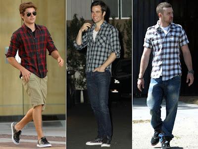 As camisas xadrez chegam com cores mais vivas e são peças já presentes no  vestuário de homens estilosos que gostam de um look mais descontraído. 2621b8907ec