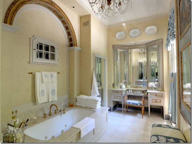 Decorar Un Baño Elegante:French Style Bathroom