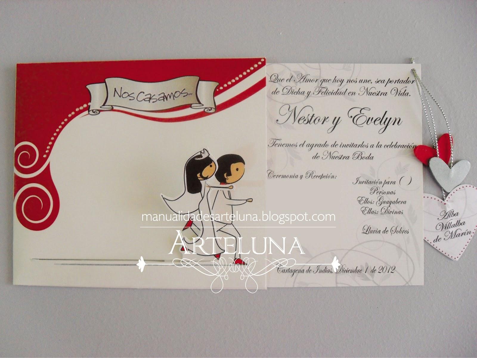 Modelos tarjetas matrimonio - Modelos de tarjetas de boda ...
