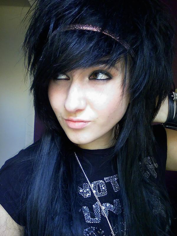 black hair emo guy. dresses lack hair emo guy. hot
