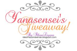 GA | Yanasensei's Giveaway!