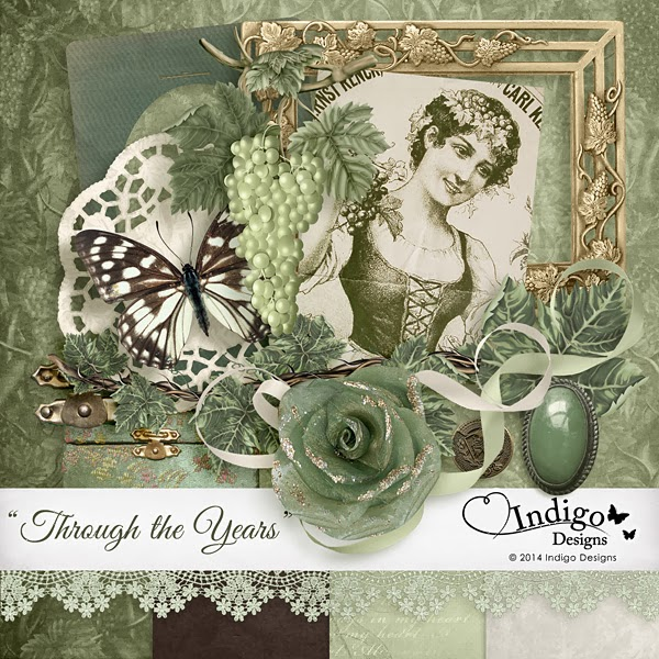 Featured Designer at DeepGirl Design! Freebie!