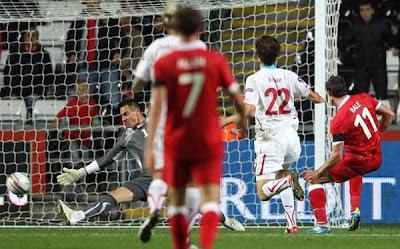 Wales 2 - 0 Switzerland