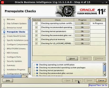 OBIEE 11G INSTALLATION IN LINUX 6 ~ Datawarehouse Architect
