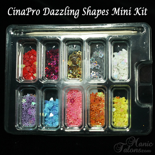 CinaPro Dazzling Shapes Mini Kit