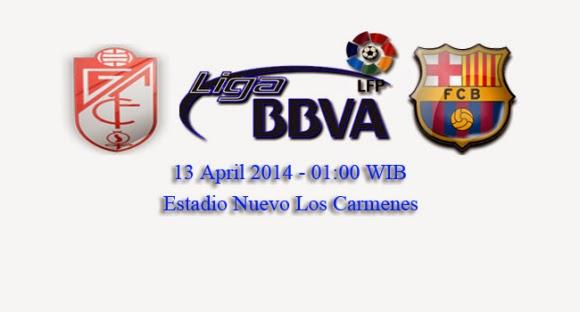 Babak Peratama Granada Vs Barcelona 1-0