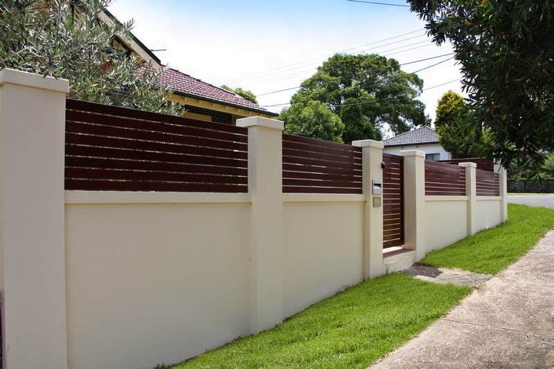 Simple Boundary Wall Design : Five tips to remodel your boundary wall