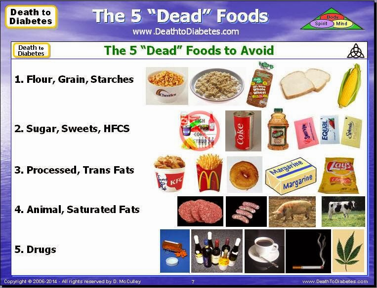 "The 5 ""Dead"" Foods"