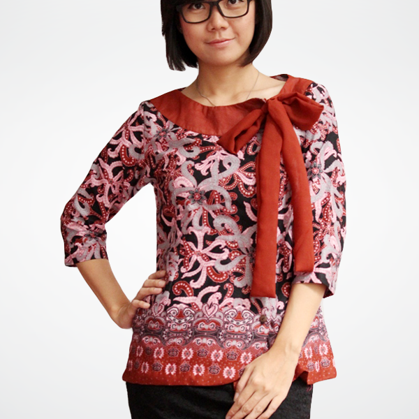 Model Baju Batik Anak Muda