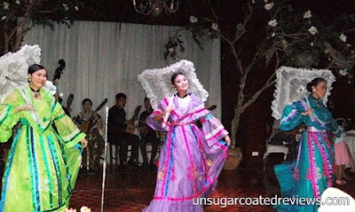 cultural dancers at Barbara's Restaurant Intramuros