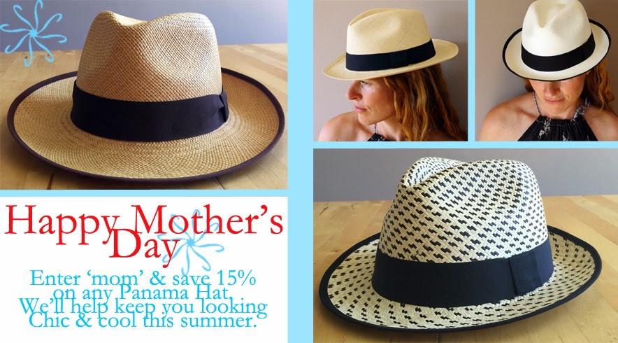 panama hat for women, fedora, classic hat, straw hat for women, sun protection for women, handmade in Ecuador