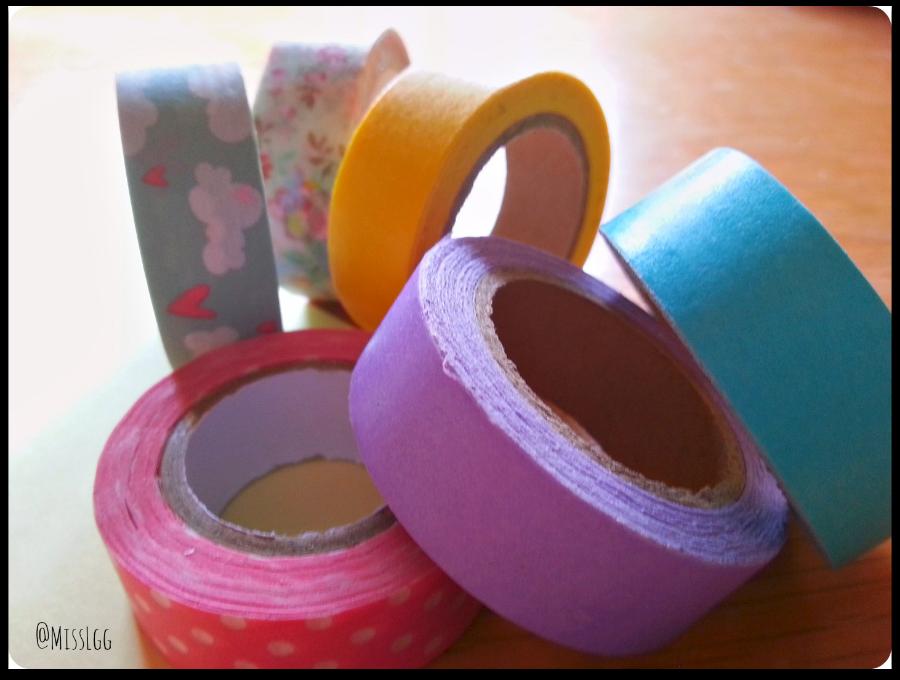 materiales para hacer una tarjeta de cumpleaños felicitación con washi tape