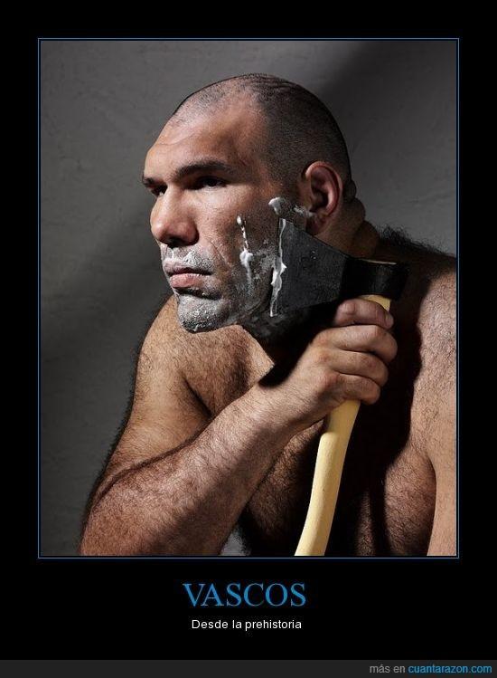 afeitadora vasca