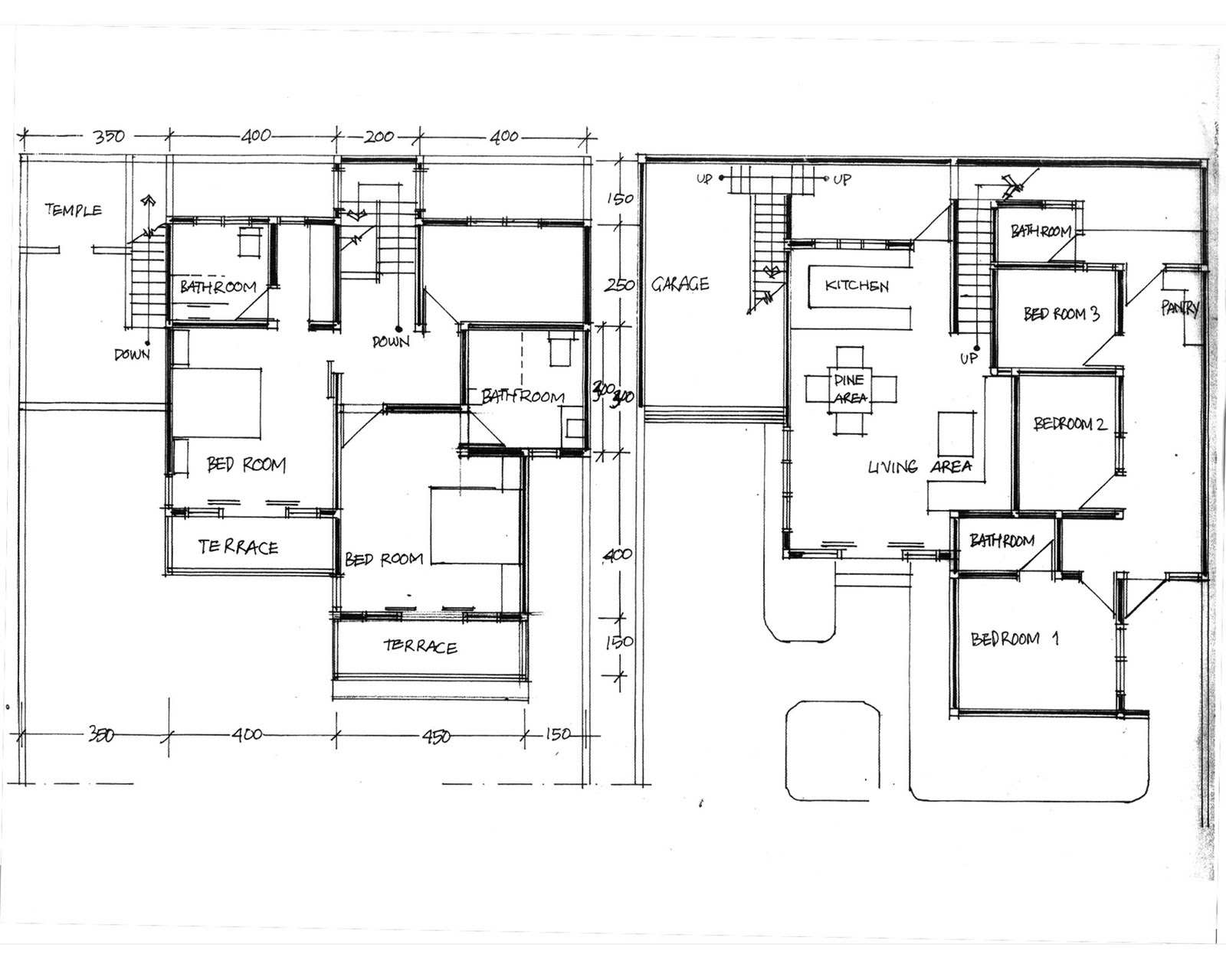 Moving to bali house plans House layout plan