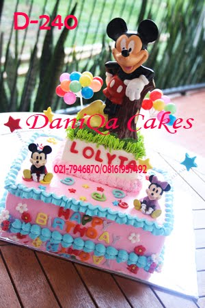 Pin Mickey Mouse Birthday Cakes Cake Pinterest