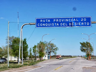 """Ruta 20 """"Conquista del desierto"""" - La Pampa"""