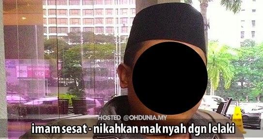 Sesat - Imam Dari Indonesia Menikahkan Lelaki Dengan Mak Nyah