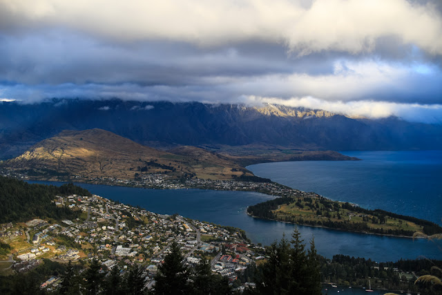 view of Queenstown New Zealand