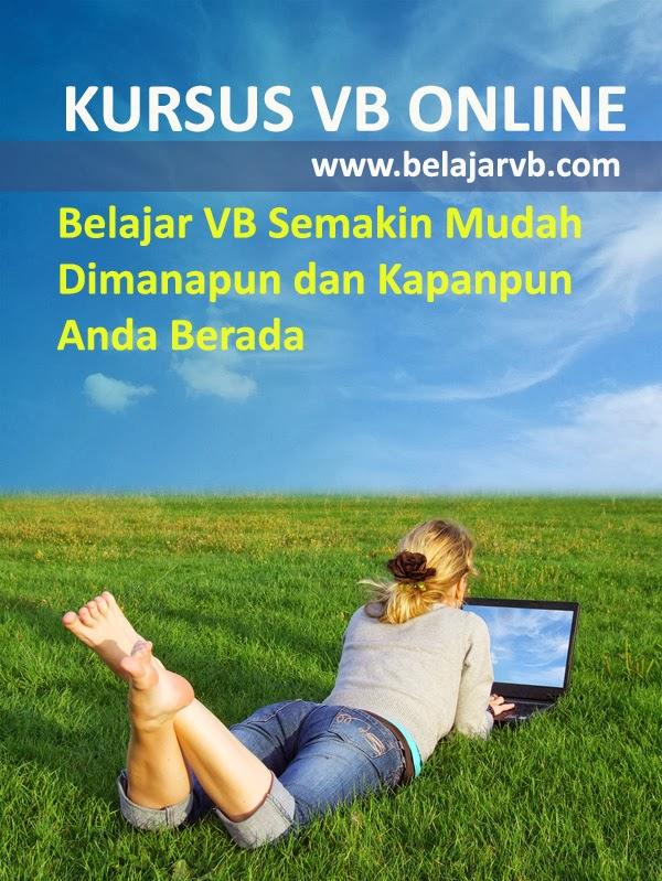 Kursus Visual Basic Online - www.belajarvb.com