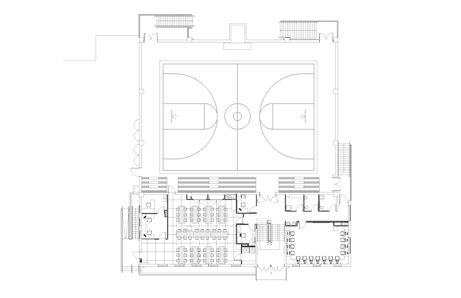 The siena school 39 s new building update first look at for Multi purpose building plans
