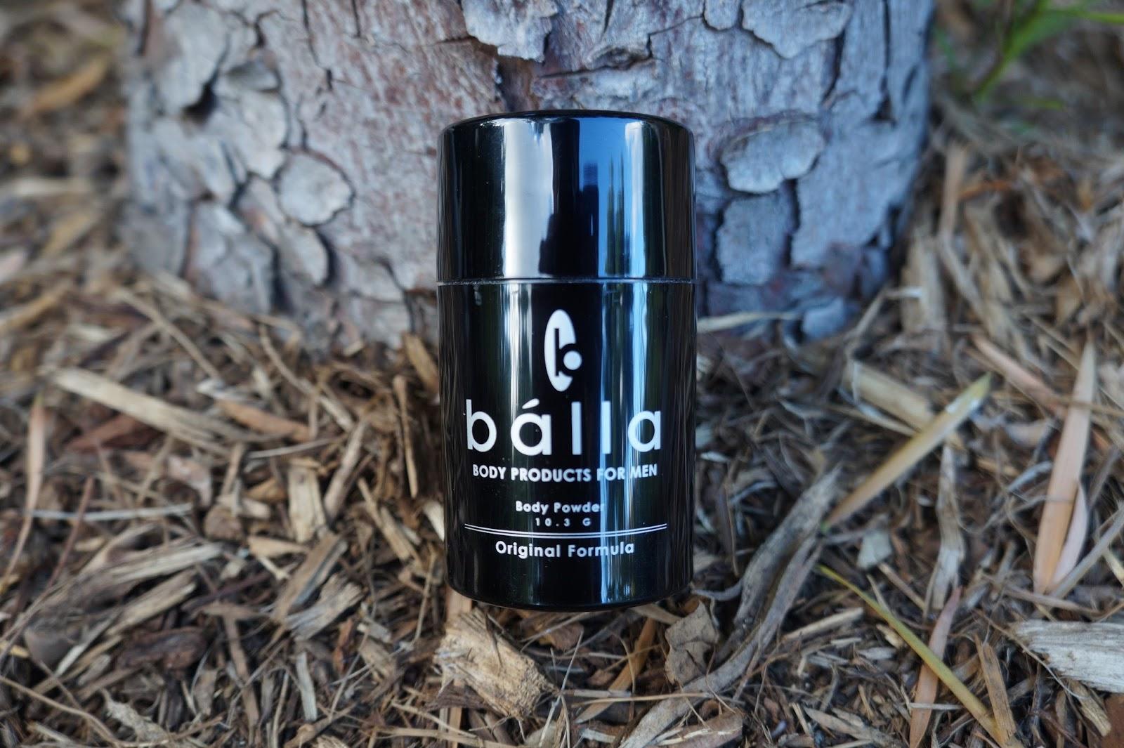 Balla for Men, Body Powder