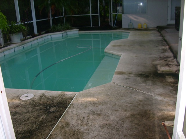 Orlando roof cleaning and pressure washing screen for Pressure clean pools