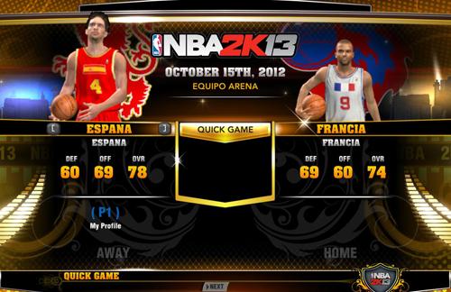 NBA 2K13 National Teams Mod (Final Update) - NBA2K.ORG