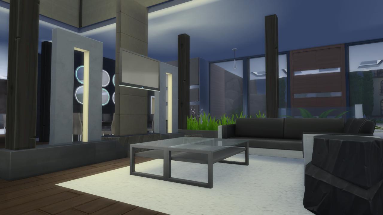 my sims 4 blog malibu modern house no cc by bioniczex my sims 4 blog modern house no cc by via sims
