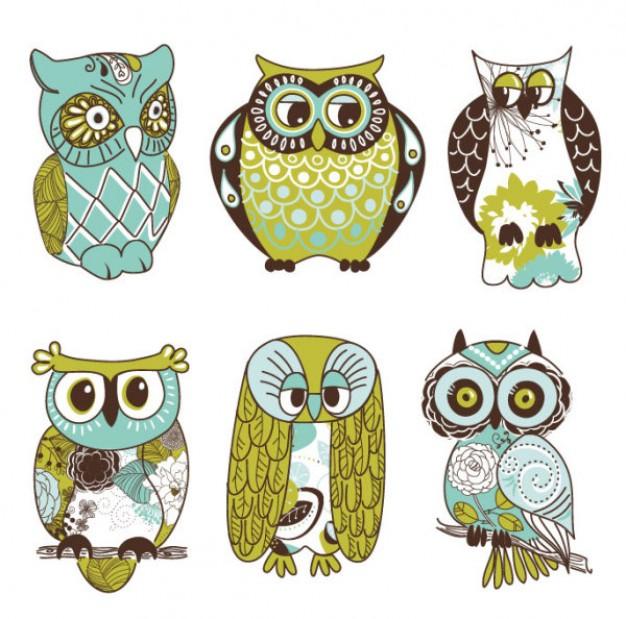 Retro owl cartoon - photo#8
