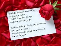 Kumpulan Kode Puisi Cinta Keren Facebook