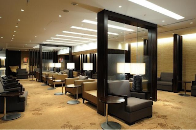 The new JAL First Class Lounge at Tokyo Narita