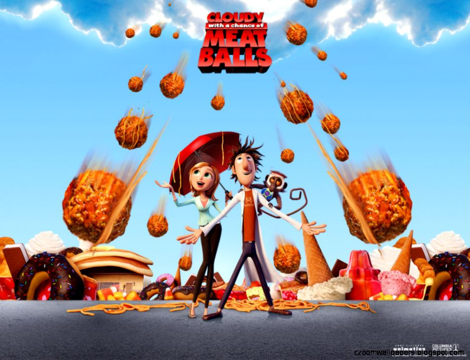 Cloudy with a Chance of Meatballs Wallpapers