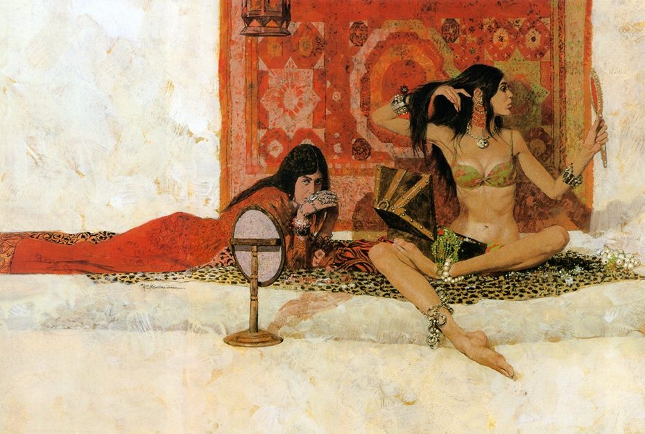 Robert McGinnis. Pin-Up Girls & Pulp Covers. Doctor Ojiplático