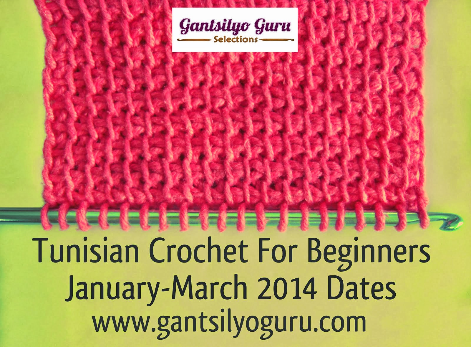 Learn Tunisian Crochet
