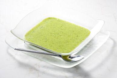 Broccolisoep volgens Piet Huysentruyt met extra selder en spinazie