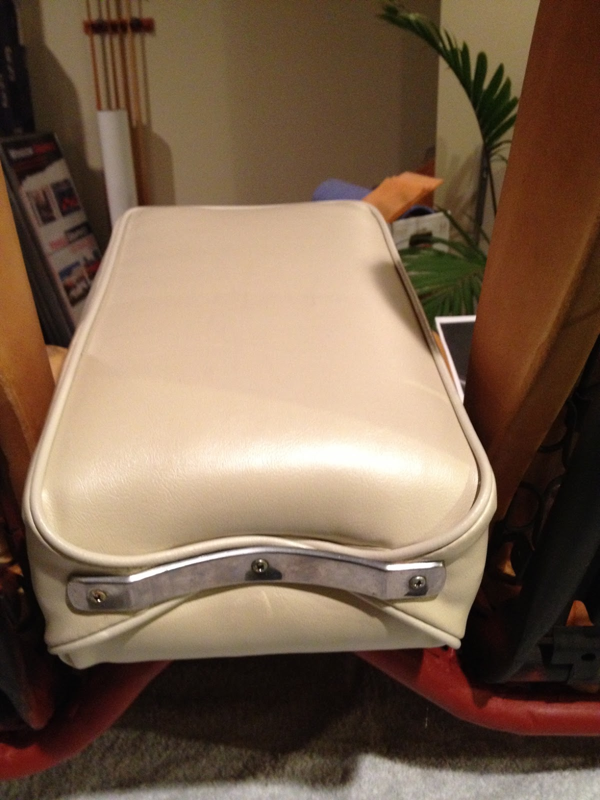 Superb img of  : 1965 Ford Mustang Rare Front Bench Seat and Centre Armrest with #9F692C color and 1200x1600 pixels